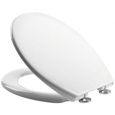Tavistock Alpine Secure Fix Soft Close Toilet Seat White