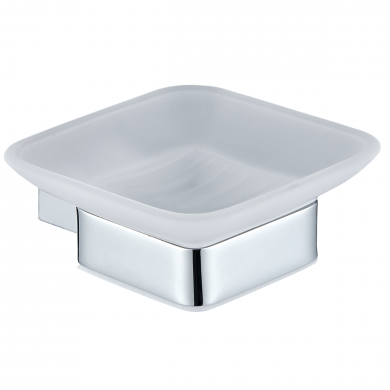 Alfred Victoria Corby Soap Dish & Holder Chrome