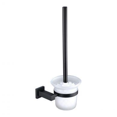 Alfred Victoria Deal Toilet Brush & Holder Matt Black