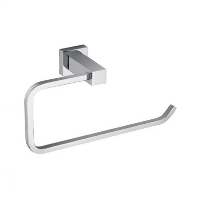 Alfred Victoria Selby Towel Ring Chrome