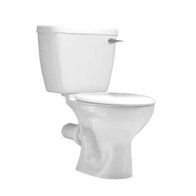 Lecico Atlas Close Coupled Toilet with Soft Close Toilet Seat