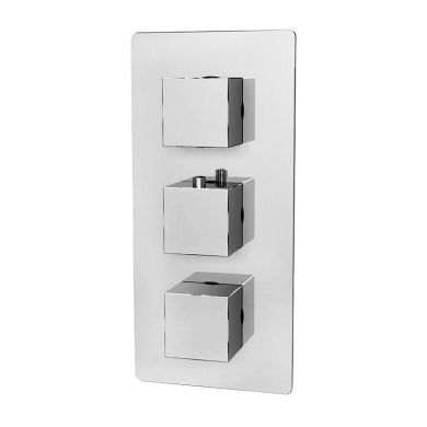 Bordo Thermostatic Triple Concealed Shower Valve
