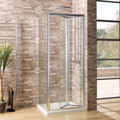 Coral 6mm Shower Enclosure Side Panel 760mm