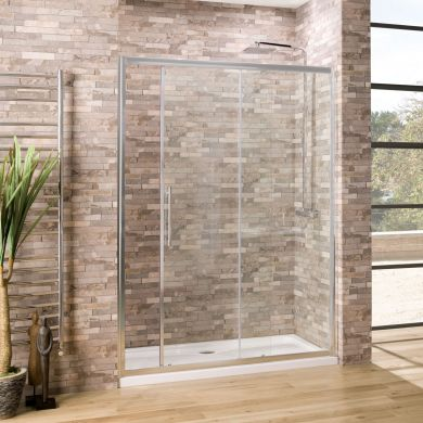 Coral 6mm Sliding Shower Door 1100mm