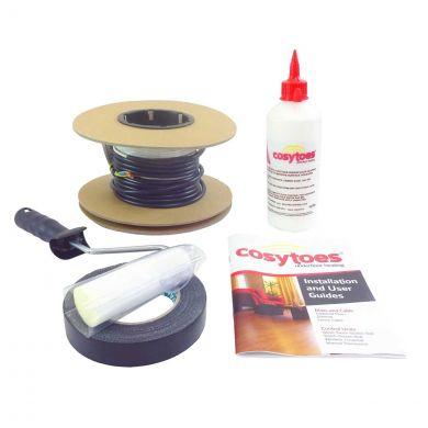 Cosytoes Underfloor Heating Loose Cable Kit 68 Metres