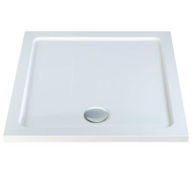 Elements Anti Slip Square Shower Tray 1000 x 1000mm
