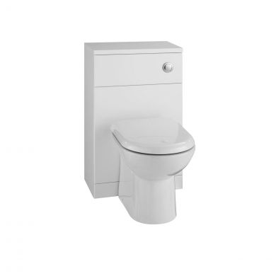 Ikoma Back To Wall Toilet Unit White 550mm