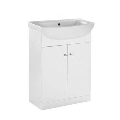 Ikoma Vanity Unit & Basin White 650mm