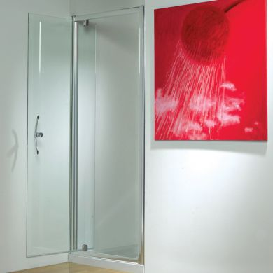 Kudos Original Straight Pivot Shower Door 760mm