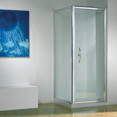 Kudos Original Straight Pivot Shower Enclosure 900 x 760mm