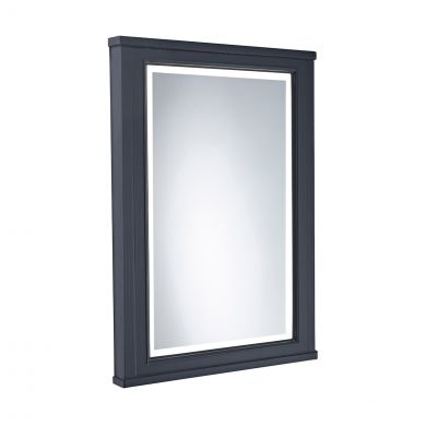 Tavistock Lansdown Framed Illuminated Mirror Dark Grey 556 x 790mm
