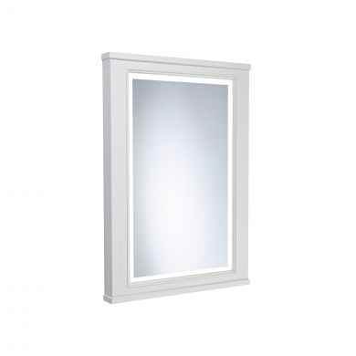 Tavistock Lansdown Framed Illuminated Mirror Pebble Grey 556 x 790mm