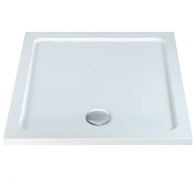 Elements Slimline Square Shower Tray 760 x 760mm