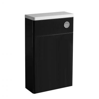 Tavistock Q60 Back To Wall Toilet Unit Graphite 570mm