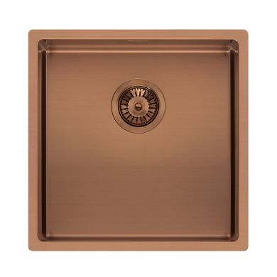 Reginox Miami Stainless Steel Kitchen Sink Copper 440 x 440mm