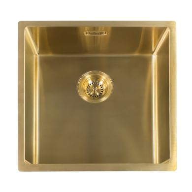 Reginox Miami Stainless Steel Kitchen Sink Gold 540 x 440mm