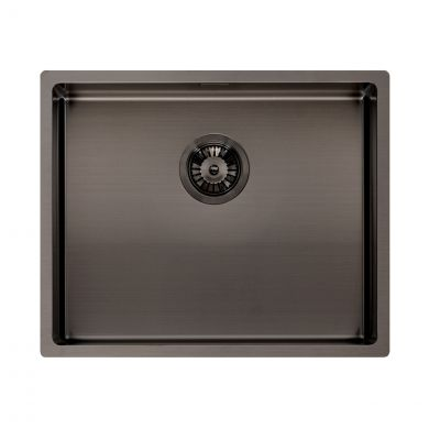 Reginox Miami Stainless Steel Kitchen Sink Gun Metal 540 x 440mm