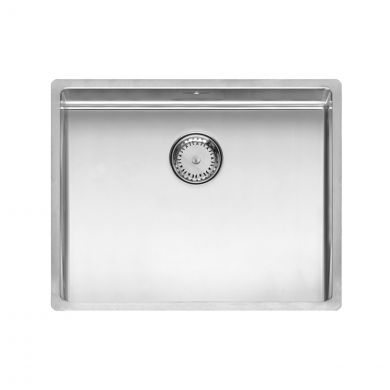 Reginox New York Stainless Steel Kitchen Sink Chrome 540 x 440mm
