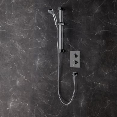 Rondo Thermostatic Twin Concealed Shower Valve System