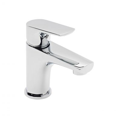 Tavistock Strike Mini Basin Mixer with Click Waste TSE61