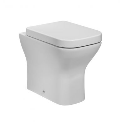 Tavistock Structure Back To Wall Toilet with Soft Close Seat