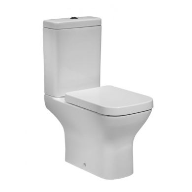 Tavistock Structure Close Coupled Toilet with Soft Close Seat