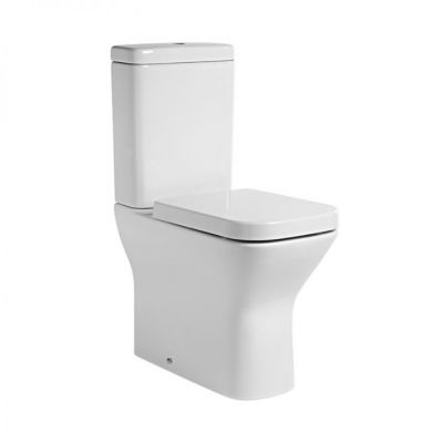 Tavistock Structure Comfort Height Fully Enclosed Close Coupled Toilet with Soft Close Seat