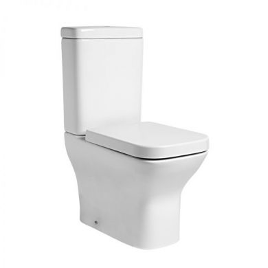 Tavistock Structure Fully Enclosed Close Coupled Toilet with Soft Close Seat