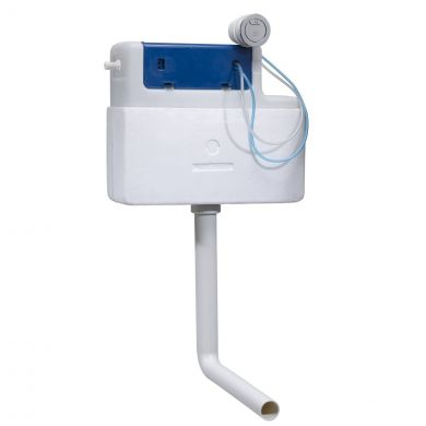 Tavistock Apex Side Entry Dual Flush Slimline Concealed Cistern
