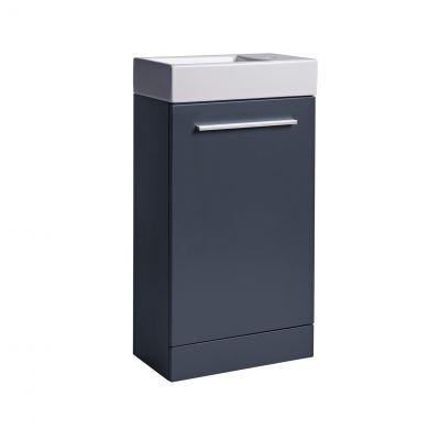 Tavistock Kobe Vanity Unit & Basin Grey 450mm