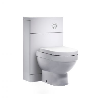 Tavistock Kobe Back To Wall Toilet Unit White 510mm