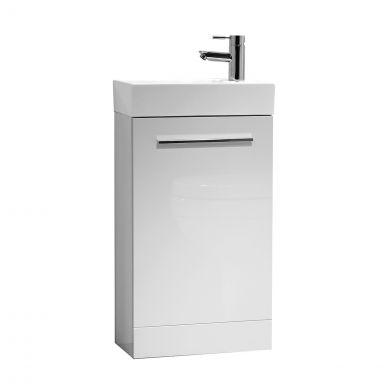 Tavistock Kobe Vanity Unit & Basin White 450mm