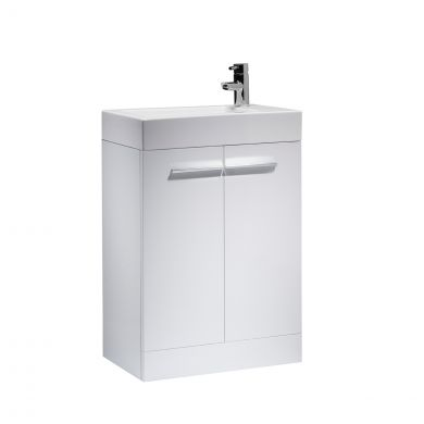 Tavistock Kobe Vanity Unit & Basin White 560mm