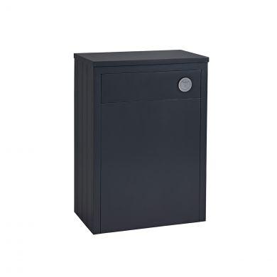 Tavistock Lansdown Back To Wall Toilet Unit Dark Grey 600mm
