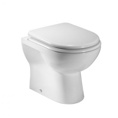Tavistock Micra Short Projection Back To Wall Toilet with Soft Close Seat