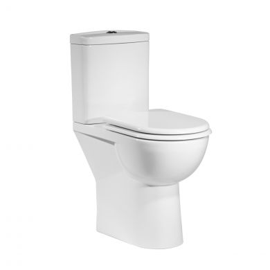 Tavistock Micra Comfort Height Close Coupled Toilet with Soft Close Seat