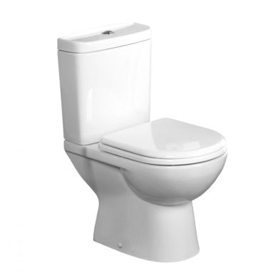 Tavistock Micra Short Projection Close Coupled Toilet with Soft Close Seat