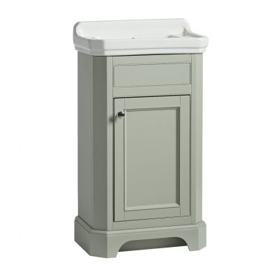 Tavistock Vitoria Vanity Unit & Basin Pebble Grey 500mm