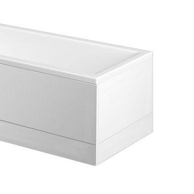 Trojan Titan Extra Rigid Acrylic Bath End Panel 700
