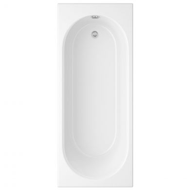 Trojancast Cascade Reinforced Single Ended Bath 1700 x 800