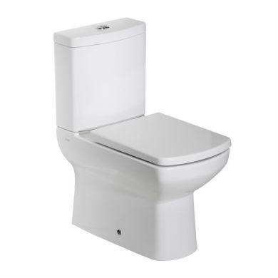 Tavistock Vibe Fully Enclosed Close Coupled Toilet with Soft Close Seat