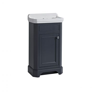 Tavistock Vitoria Vanity Unit & Basin Dark Grey 500mm