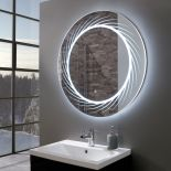 opulentultraslimroundledilluminatedmirror800mmroom