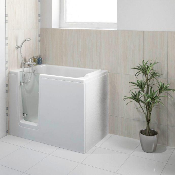 Bathe Easy Comfort Walk In Bath 1210 x 650 Left Hand