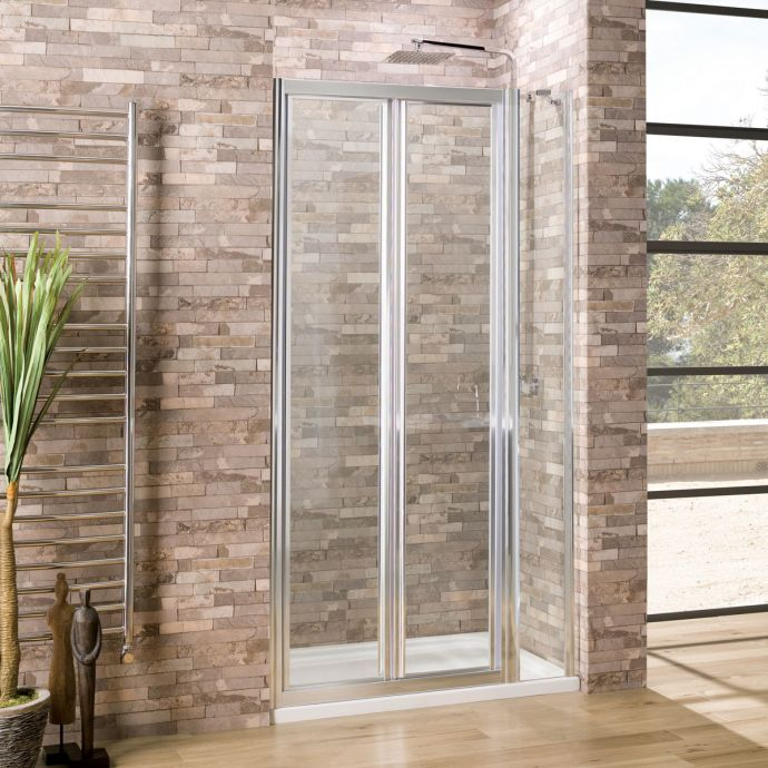 Coral 6mm Bifold Shower Door 1100mm