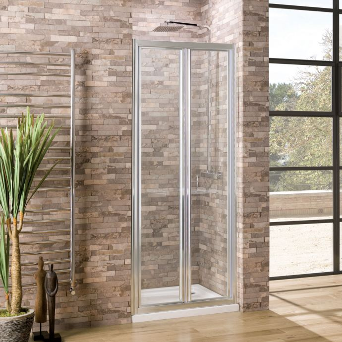 Coral 6mm Bifold Shower Door 760mm