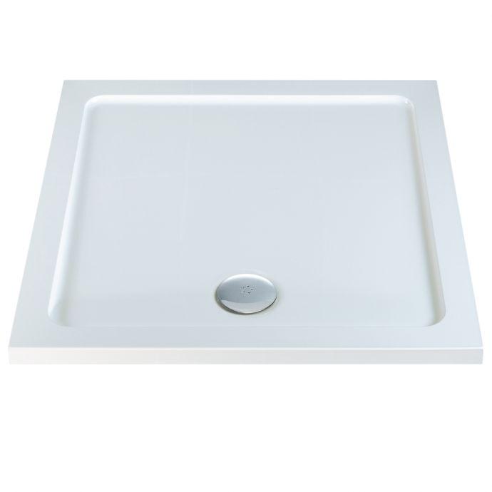 Elements Anti Slip Square Shower Tray 800 x 800mm