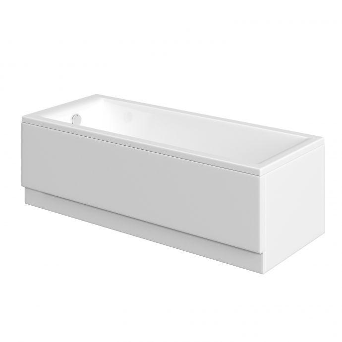 Trojan Supastyle 2mm Acrylic Bath Side Panel 1500