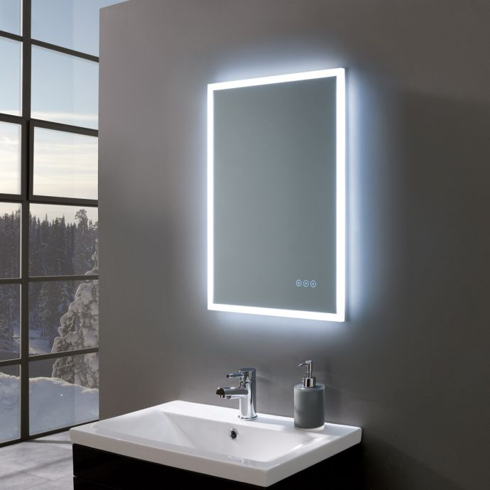Gleam Ultra Slim LED Illuminated Mirror 500 x 700mm
