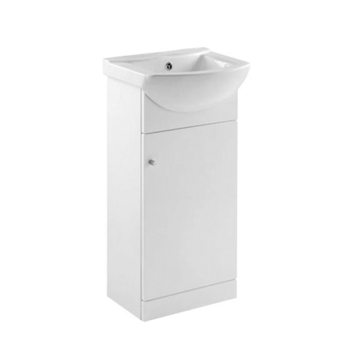 Ikoma Vanity Unit & Basin White 450